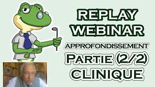 webinar conférence clinique